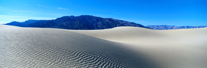 グレープバイン山「Sand Dunes and Grapevine Mountains, Death Valley」:スマホ壁紙(5)