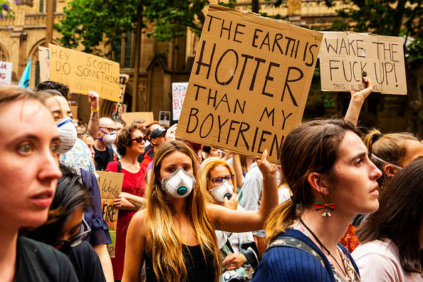 Sydney「Activists Rally For Climate Action As NSW Battles Bushfires」:写真・画像(6)[壁紙.com]