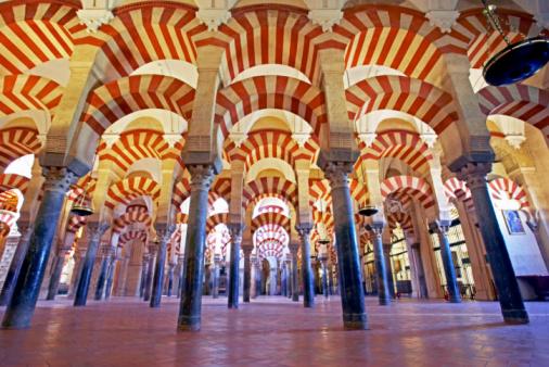 Arch - Architectural Feature「Spain, Cordoba, Interior of Mezquita」:スマホ壁紙(5)