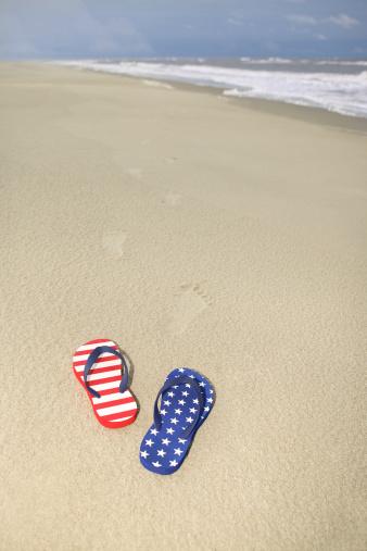Flip-Flop「Sandals on beach」:スマホ壁紙(12)