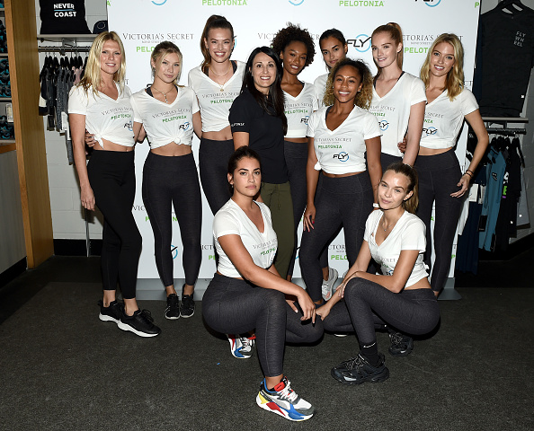 Victoria's Secret「Victoria's Secret Angel Cycle To End Cancer Hosted By Angels Martha Hunt, Josephine Skriver, Alexina Graham, Chey Carty, Gizele Oliveira, Josie Conseco, Lorena Duran And Sofie Rovenstine At Flywheel」:写真・画像(8)[壁紙.com]