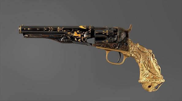 Model - Object「Colt Model 1862 Police Revolver」:写真・画像(10)[壁紙.com]