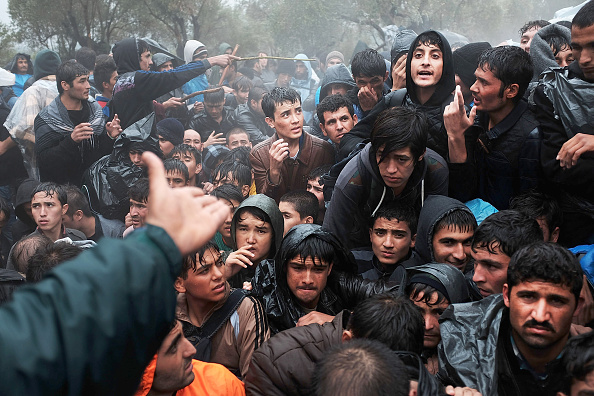 Greece「Greek Island Of Lesbos Continues To Receive Migrants Fleeing Their Countries」:写真・画像(15)[壁紙.com]