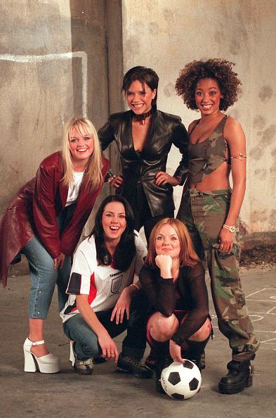 1990-1999「The Spice Girls Films Euro 96 Video」:写真・画像(14)[壁紙.com]