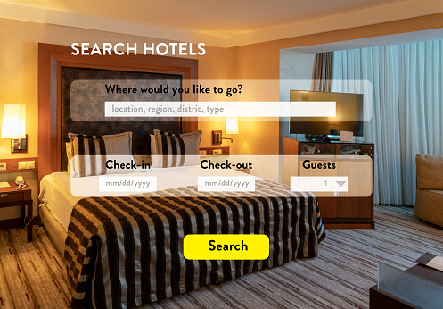 Making a Reservation「Web Page about Search Hotels」:スマホ壁紙(7)