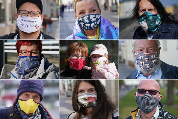Human Face「The Coronavirus Crisis In Germany: Week 7」:写真・画像(9)[壁紙.com]