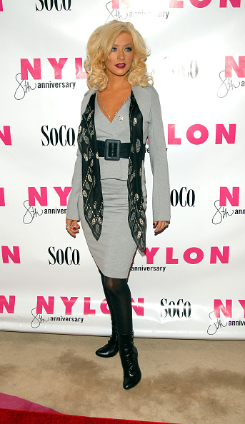 Alexander McQueen - Designer Label「Christina Aguilera Hosts Nylon Magazine's 8th Anniversary Celebration」:写真・画像(0)[壁紙.com]