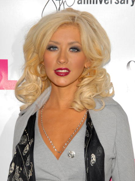 Alexander McQueen - Designer Label「Christina Aguilera Hosts Nylon Magazine's 8th Anniversary Celebration」:写真・画像(1)[壁紙.com]