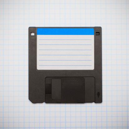The Past「Vintage floppy computer disk」:スマホ壁紙(6)