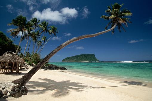 1990-1999「Lalomanu Beach in Western Samoa」:スマホ壁紙(15)