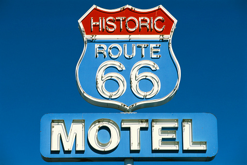 Motel「Route 66 Motel Sign」:スマホ壁紙(8)