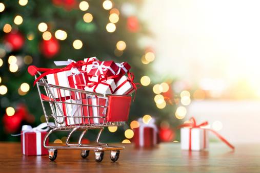 Christmas Paper「Christmas shopping」:スマホ壁紙(3)