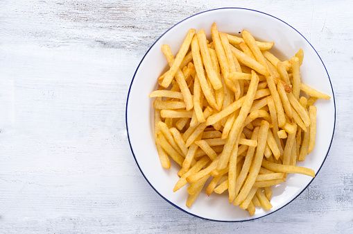 French Fries「French fries on plate」:スマホ壁紙(9)