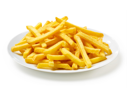 French Fries「French Fries on Plate」:スマホ壁紙(13)