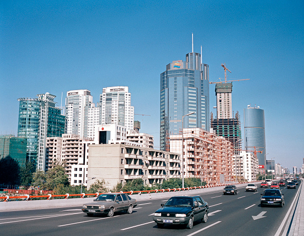 Clear Sky「View of Chaoyang Business District (CBD) skyline from East 3rd Ring Road, Beijing, China」:写真・画像(2)[壁紙.com]