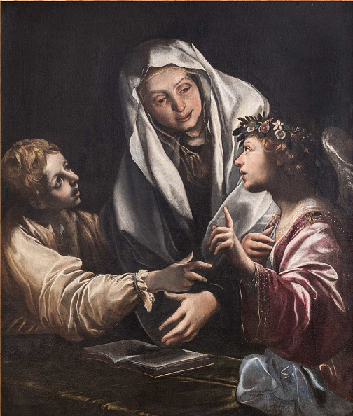 Painting - Activity「The Vision Of Saint Frances Of Rome.」:写真・画像(4)[壁紙.com]