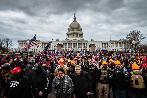 "Capitol Hill「Trump Supporters Hold ""Stop The Steal"" Rally In DC Amid Ratification Of Presidential Election」:写真・画像(2)[壁紙.com]"
