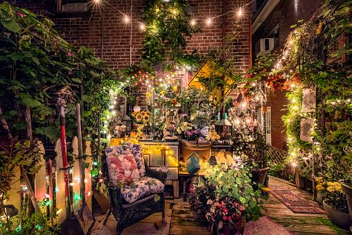 Christmas Lights「Amazing, Ornately Decorated House」:スマホ壁紙(4)