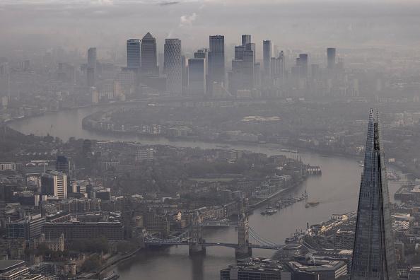 Shard London Bridge「Aerial Views Of London As England Starts Second Lockdown」:写真・画像(12)[壁紙.com]
