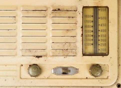 Rock Music「Old Grungy Valve Radio Close Up」:スマホ壁紙(9)