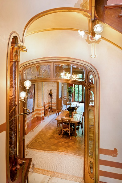Art Nouveau「Maison Atelier Horta (Horta Museum)」:写真・画像(5)[壁紙.com]