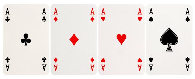 Number「four of a kind - Aces」:スマホ壁紙(9)
