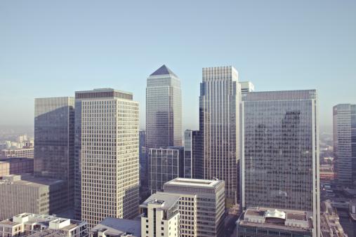 摩天楼「London City View including Canary Wharf」:スマホ壁紙(11)