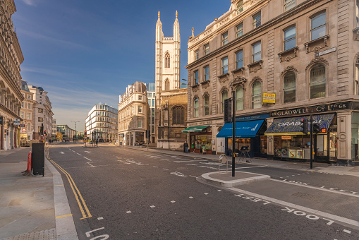 Place of Worship「UK, London, City of London, Mansion House station, Queen Victoria Street」:スマホ壁紙(14)