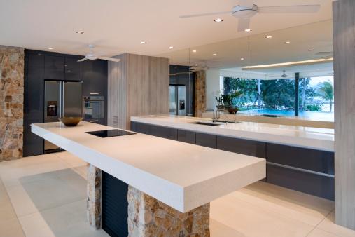 Chalet「Modern Villa Kitchen」:スマホ壁紙(8)