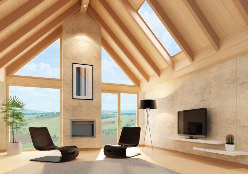 Funky「Modern Villa Interior」:スマホ壁紙(19)