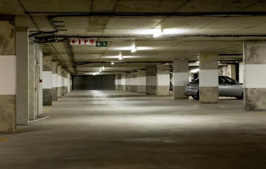 Basement「Underground parking garage」:スマホ壁紙(1)