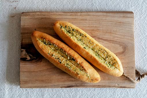 Garlic「Breakfast: garlic relish baguette」:スマホ壁紙(0)