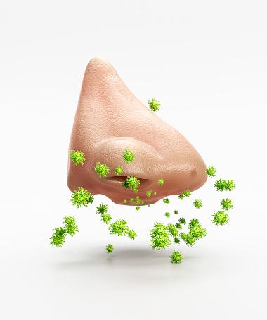 Allergy Medicine「Nostril or nose with Covid」:スマホ壁紙(8)