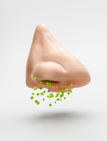 Allergy Medicine「Nostril or nose with Covid 2」:スマホ壁紙(13)