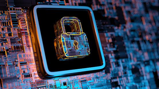 Internet of Things「Digital security concept」:スマホ壁紙(6)