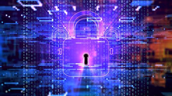 Big Data「Digital security concept」:スマホ壁紙(0)