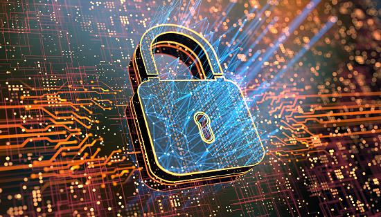 Internet of Things「Digital security concept」:スマホ壁紙(11)