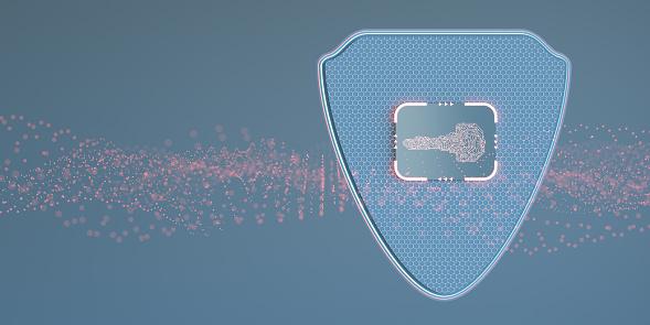 Network Security「Digital security key concept」:スマホ壁紙(15)
