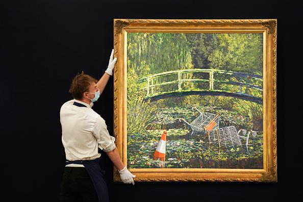 人物「Banksy's 'Show Me The Monet' To Star In Sotheby's 'Modernites/Contemporary' Evening Sale Series」:写真・画像(18)[壁紙.com]