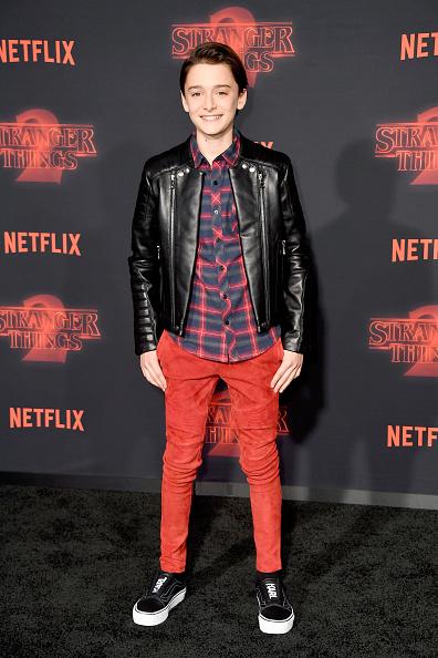 "Noah Schnapp「Premiere Of Netflix's ""Stranger Things"" Season 2 - Arrivals」:写真・画像(11)[壁紙.com]"