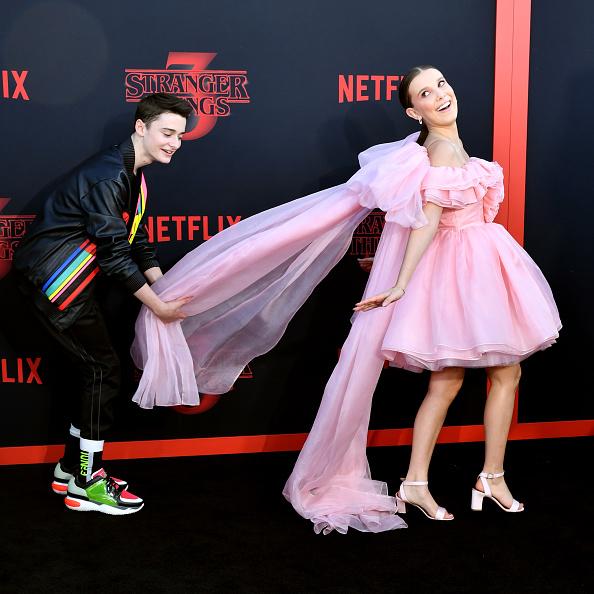 "Noah Schnapp「Premiere Of Netflix's ""Stranger Things"" Season 3 - Arrivals」:写真・画像(2)[壁紙.com]"