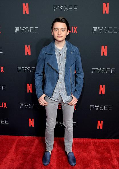 "Noah Schnapp「""Stranger Things 2"" Panel At Netflix FYSEE」:写真・画像(1)[壁紙.com]"