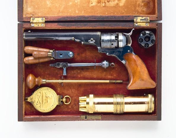 Model - Object「Colt Paterson Percussion Revolver」:写真・画像(12)[壁紙.com]