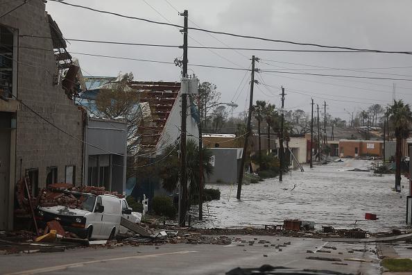 Natural Disaster「Hurricane Michael Slams Into Florida's Panhandle Region」:写真・画像(13)[壁紙.com]