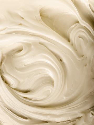 Swirl Pattern「Vanilla Frosting, Close-Up」:スマホ壁紙(18)