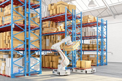 Robotics「Smart Warehouse Staffed By Robots」:スマホ壁紙(10)