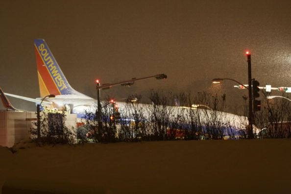 Animal Body Part「Southwest Airlines Jet Skids Off Runway During Snowstorm」:写真・画像(15)[壁紙.com]