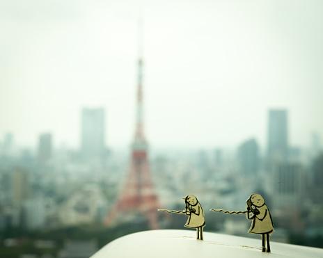 Tokyo Tower「To communicate」:スマホ壁紙(6)