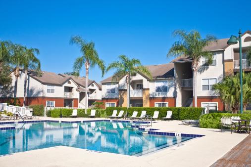 Tropical Tree「Condominiums with Swimming Pool」:スマホ壁紙(9)