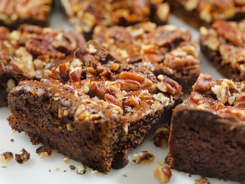 Praline「Gluten Free, Low Carbohydrate, Fudge Brownies with Sea Salted Pecans」:スマホ壁紙(9)